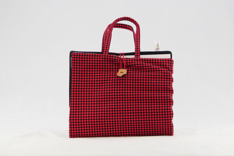 Art Caddy - Houndstooth - Large