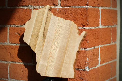 "12"" Wisconsin Cheese & Cutting Board"