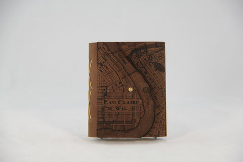 EC Map Leather Journal