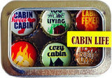 Bottle Cap Magnet Set - Cabin Life
