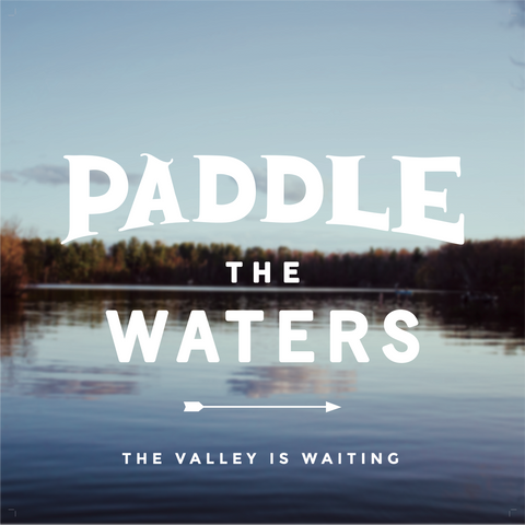 Paddle the Waters Print - 12x12