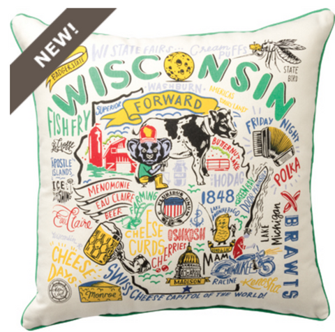 Pillow - Super Wisconsin