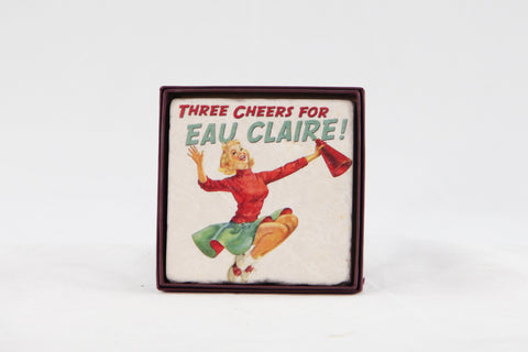 Marble Coaster - Three Cheers for Eau Claire