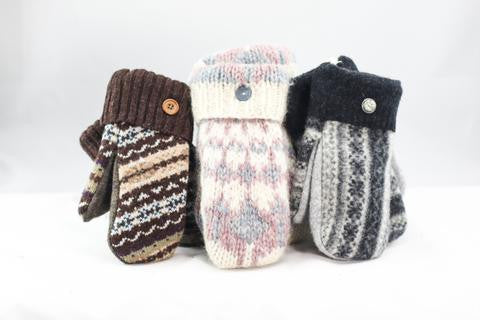 Kids Sweater Mittens