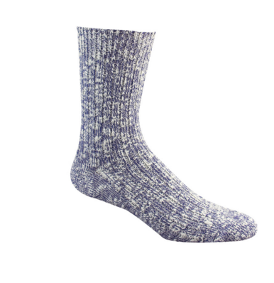 Wigwam Socks - Cypress (White/Purple)