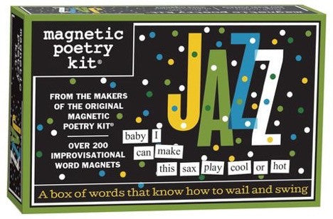 Magnetic Poetry - Jazz