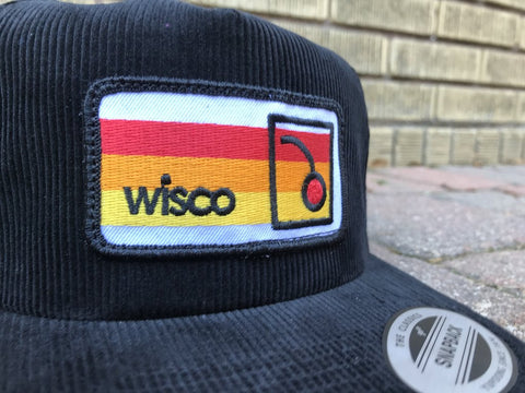 Wisconsin Old Fashioned Corduroy Hat