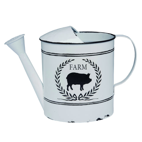 Watering Can - Farm Pig