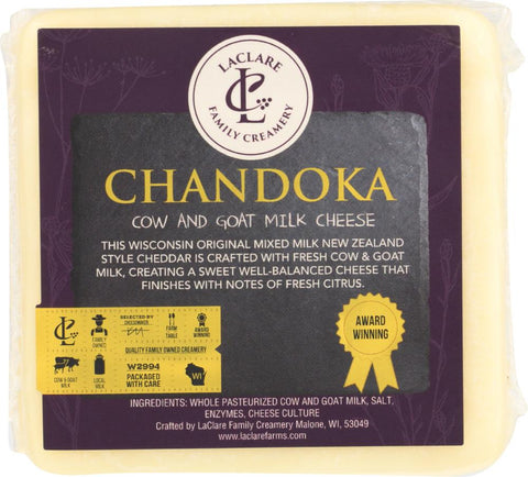 LaClare Farms Cheese - Chandoka (6 oz.)