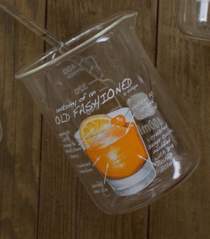 Beaker Glass - Old Fashioned