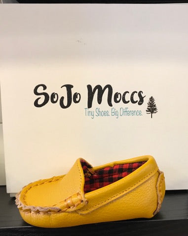 Baby Moccasins - Tan Leather