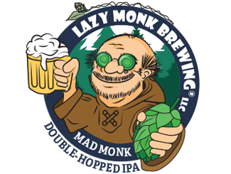 Lazy Monk Beer - Mad Monk IPA Can (16 oz.)