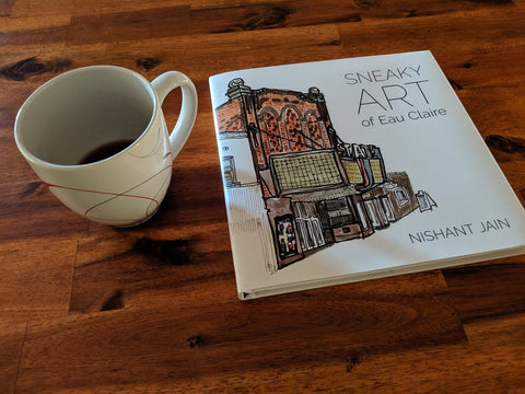 Sneaky Art of Eau Claire (Book)