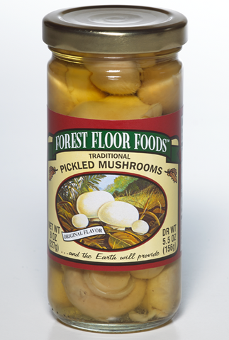 Forest Floor Foods - Pickled Mushrooms (16 oz.)