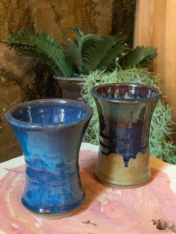 Fluted Wine Cup (Pottery)- Assorted