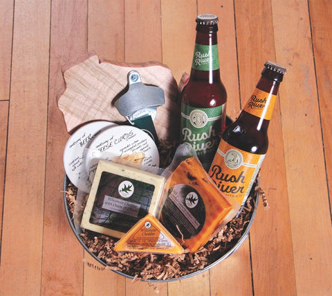 Gift Basket - Good Ole Beer N' Cheese