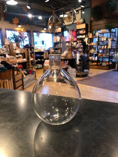 Locally Blown Glass - Vase Teardrop