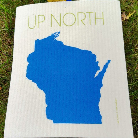 Swedish Dishcloth - Wisconsin Up North