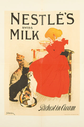 Metal Sign - Nestle Milk