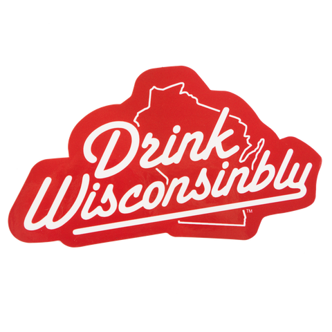 Sticker - Drink Wisconsinbly