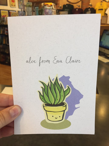 Aloe Greeting Card