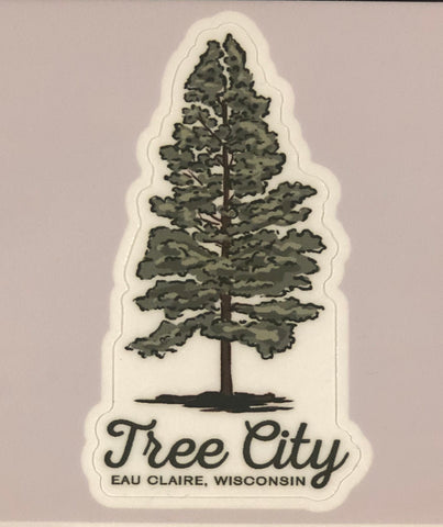 Die-Cut Sticker - Tree City