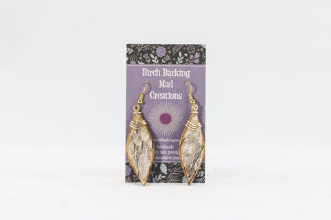 Birch Bark Earrings + Wire
