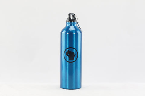 Stainless Steel Bottle - Blue WI Stamp (24 oz.)