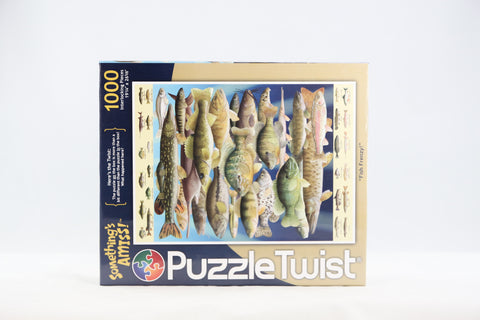 Fish Frenzy Jigsaw Puzzle