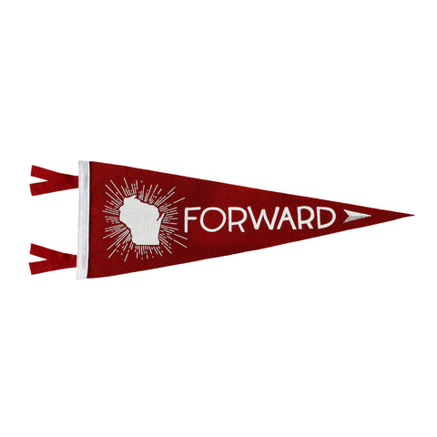 Pennant - Wisconsin Forward