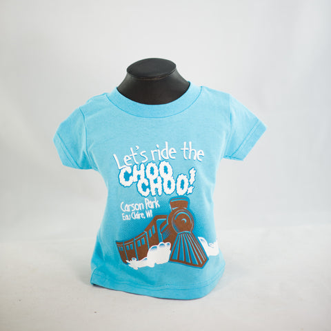 Let's Ride the Choo Choo Tee - Toddler