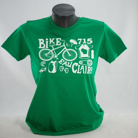 Geared Up Youth Tee Green