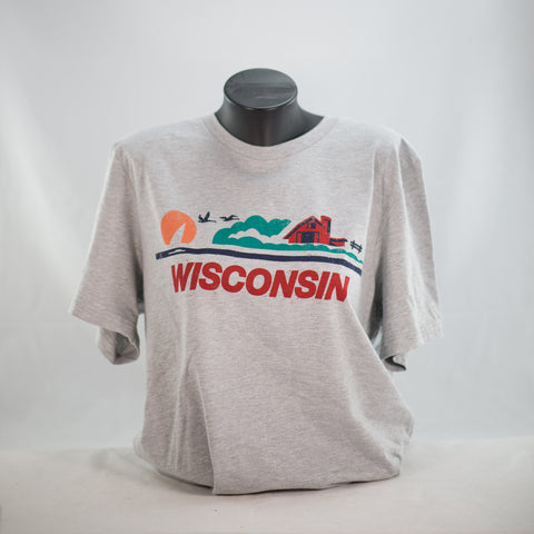 WI License Plate Tee