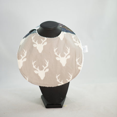 Bib - Woodland Deer (dark)