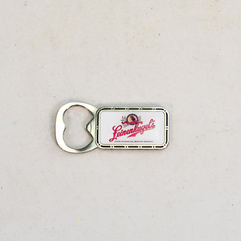 Magnet - Leinie's Bottle Opener (White)