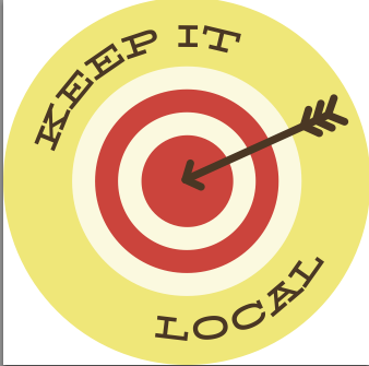 Sticker - Keep It Local