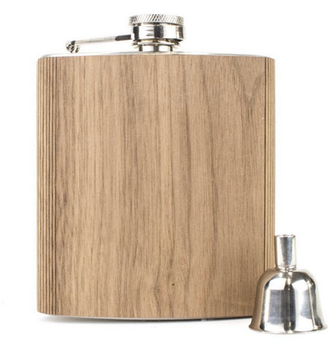 Wood Flask - Walnut (Large 6oz)