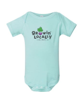 Onesie- Growin' Locally
