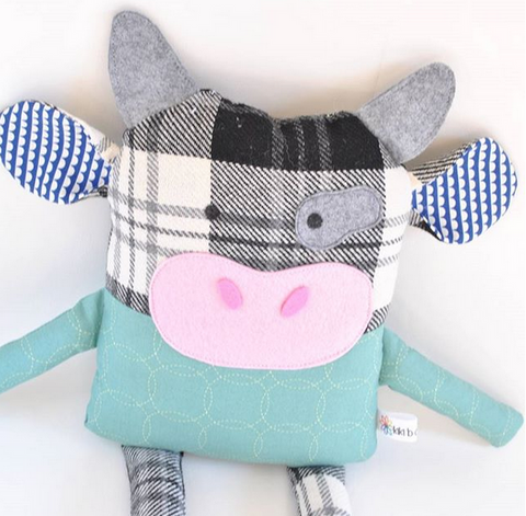 Up-Cycled Friend - Cow
