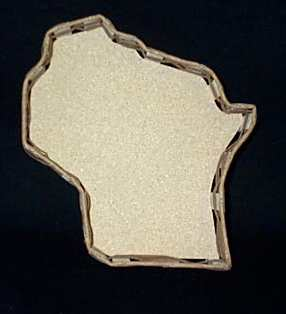 Build Your Own Gift Basket - Wisconsin Shaped (Medium 11')