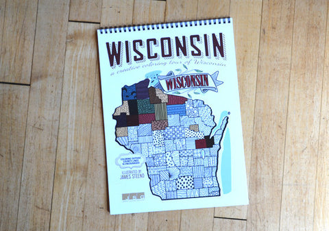 Wisconsin Coloring Book