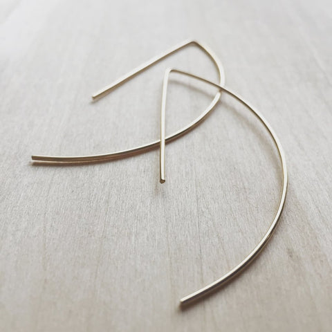 Archery Hoops earring (Gold)