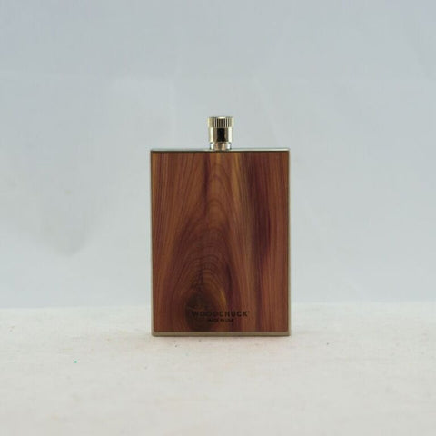 Wood Flask - Cedar (Plain)