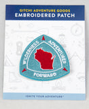 Gitchi Embroidered Wisconsin Patch