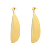 Gold Meridian Earrings