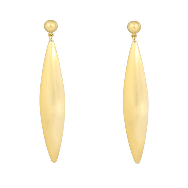 Gold Dune Earrings
