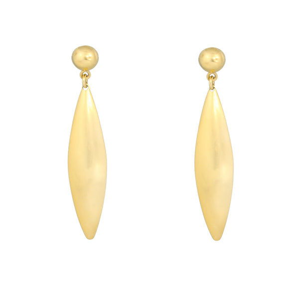 Gold Small Dune Earrings