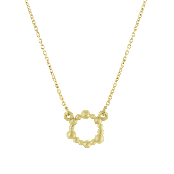 Gold Cassiopeia Pendant Necklace