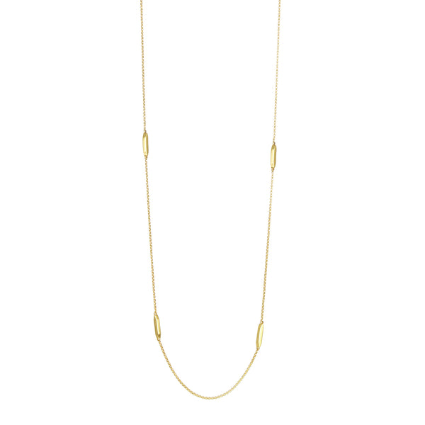 Gold Sol Station Necklace