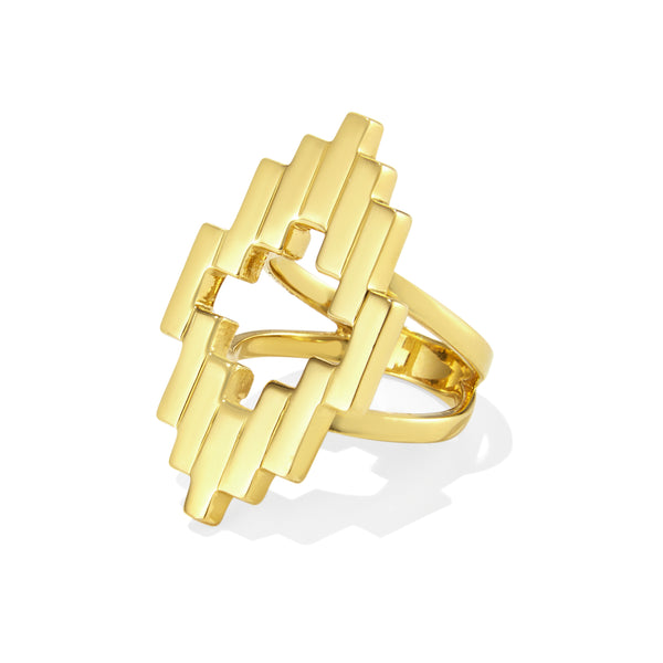 Gold Aura Ring
